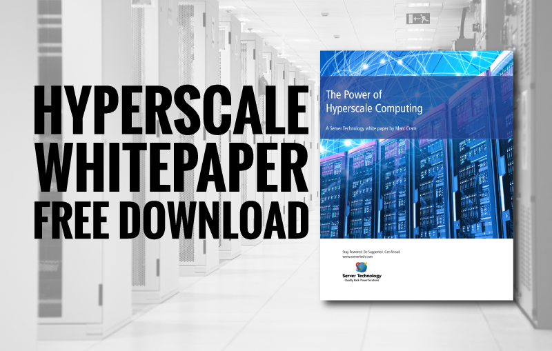 cover of hyperscale computing white paper, download call-to-action