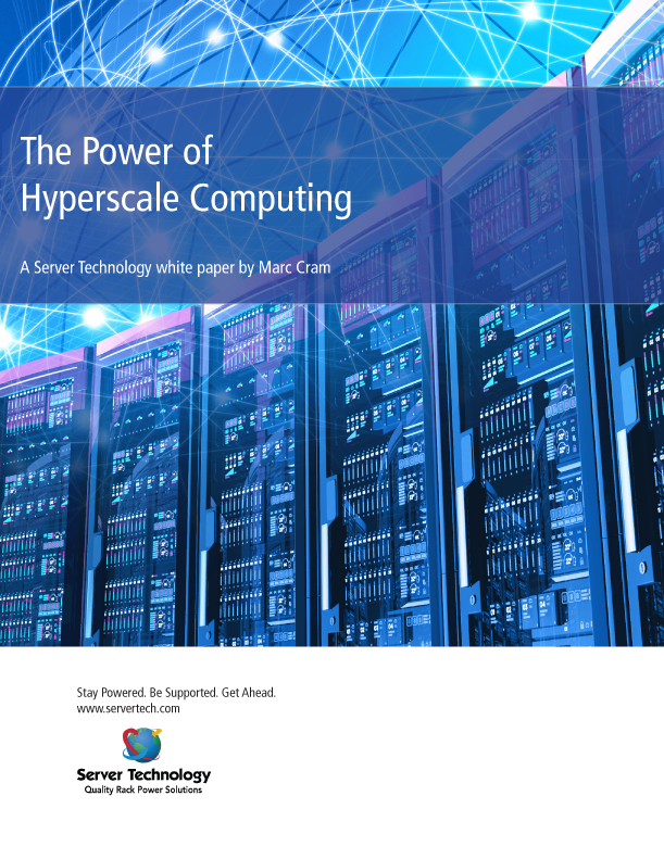Cover of Hyperscale Computing white paper