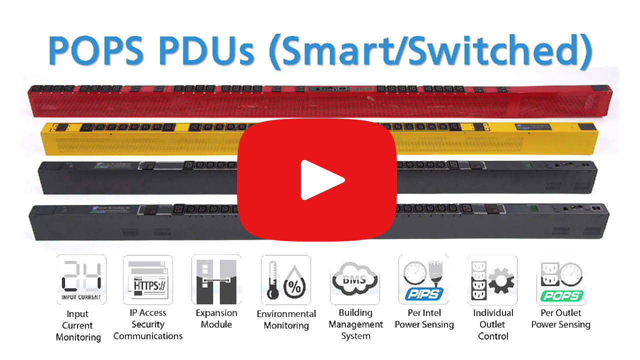 Power Distribution Unit (PDU) product family overview video