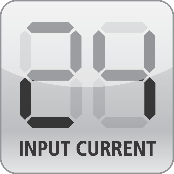 Input current monitor